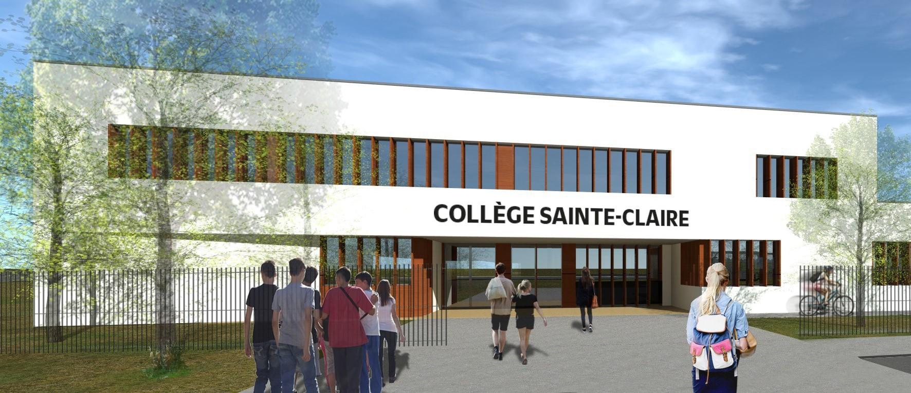 Projet de l'établissement Sainte-Claire