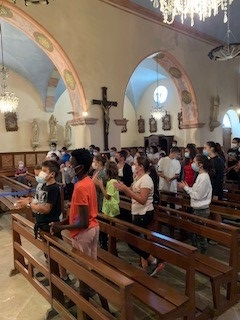 Première messe de rentrée pour Sainte-Claire